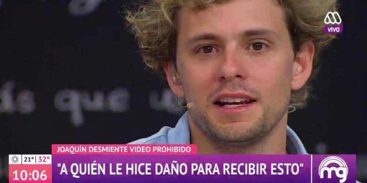 Joaquín Méndez lloró al hablar sobre supuesto video sexual y anunció que tomará acciones legales