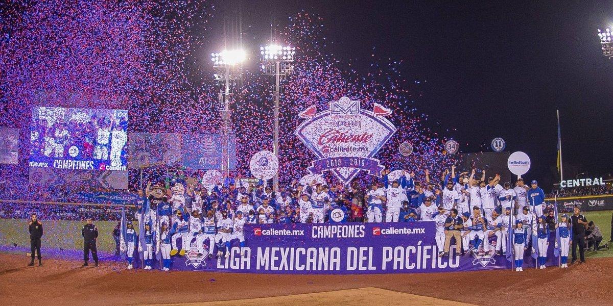 Charros se corona en la Liga Mexicana del Pacífico