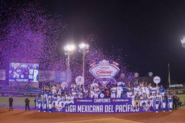 Charros campeones de la Liga Mexicana del Pacífico