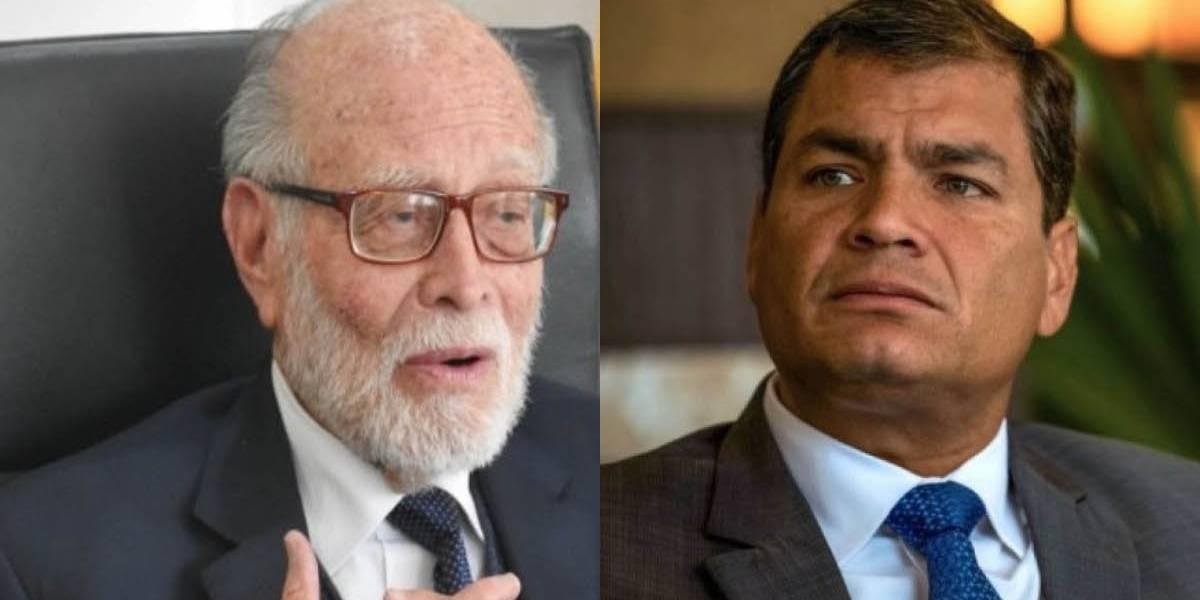 Rafael Correa se pronuncia ante investigación de Fiscalía a la agresión de Julio César Trujillo