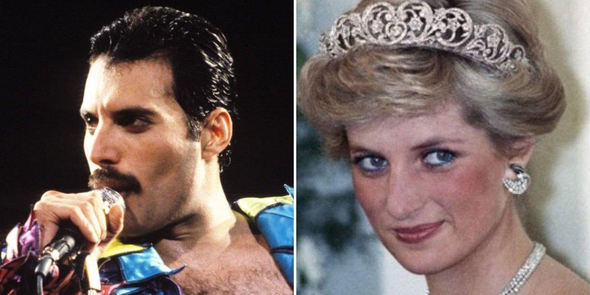 Rami Malek revela história pouco conhecida sobre Freddie Mercury e princesa Diana