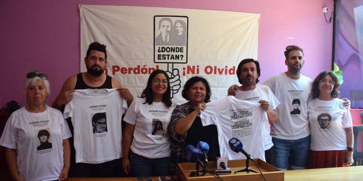 Por la memoria: invitan a correr Maratón de Santiago usando poleras con rostros de detenidos desaparecidos