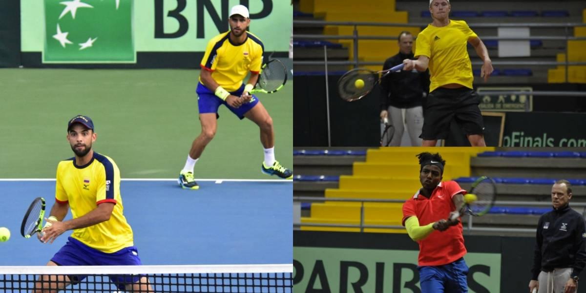 ¡Colombia avanza al grupo Mundial de la Copa Davis!
