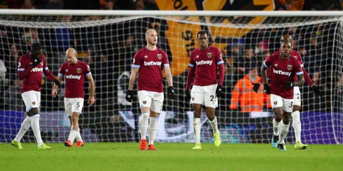 West Ham de Pellegrini sigue con su zig zag en la Premier League y ahora fue goleado por Wolves