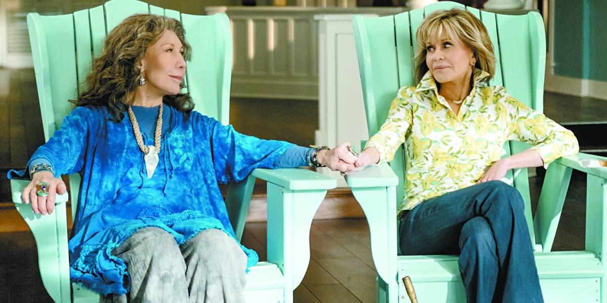 'Grace and Frankie' mostram menos vigor em quinta temporada