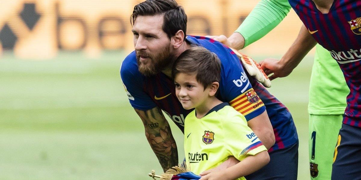 'Mi hijo me obliga a hablar de las derrotas': Messi