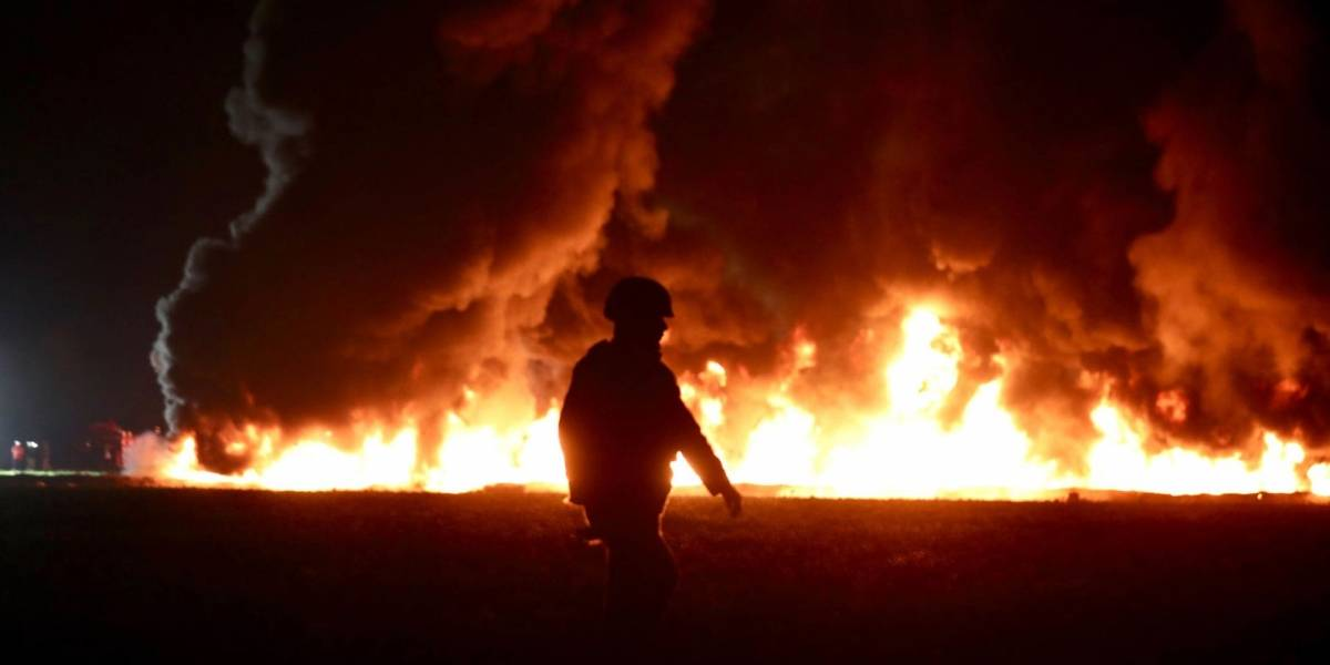 México: Autoridades advierten sobre el Huachicol Challenge, un reto viral que invita a prenderse fuego