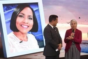 Madre de Keylla Hernández junto a Normando Valentín