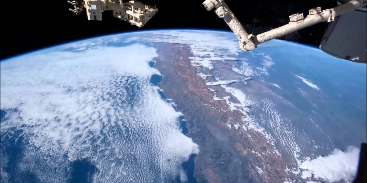 El sur de Chile retratado desde el espacio por un astronauta que quedó maravillado