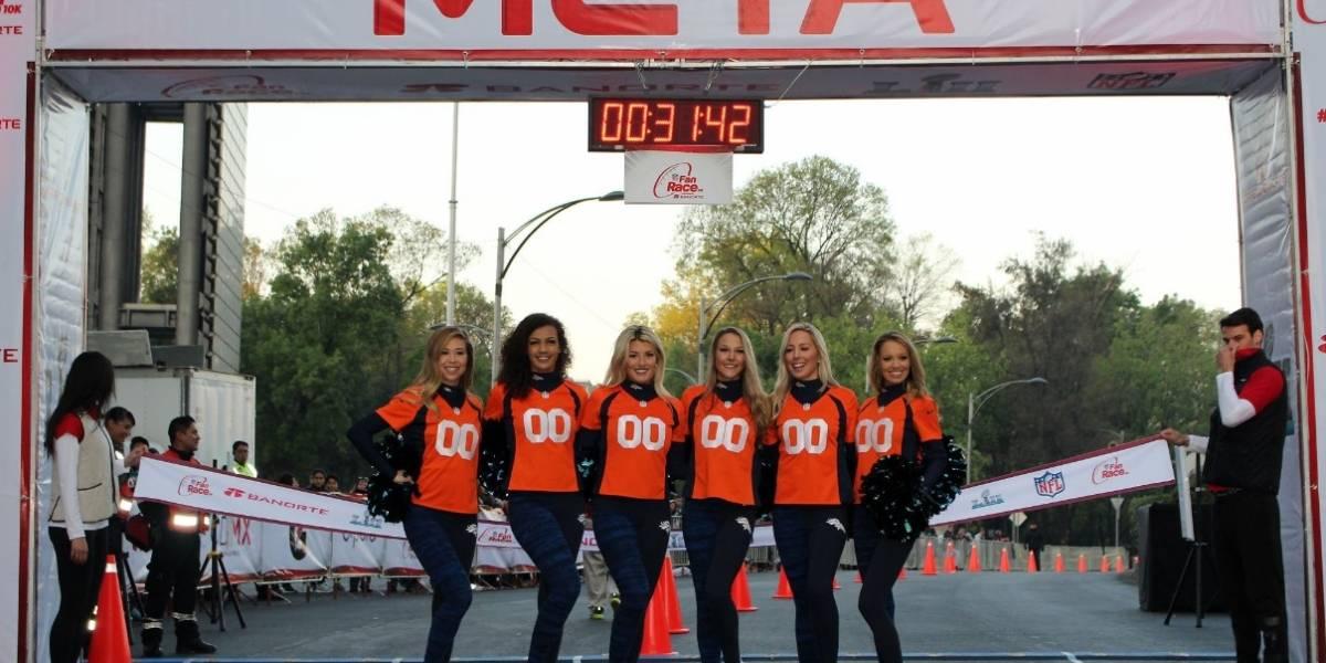 Super Bowl LIII enciende México con la NFL Fan Race