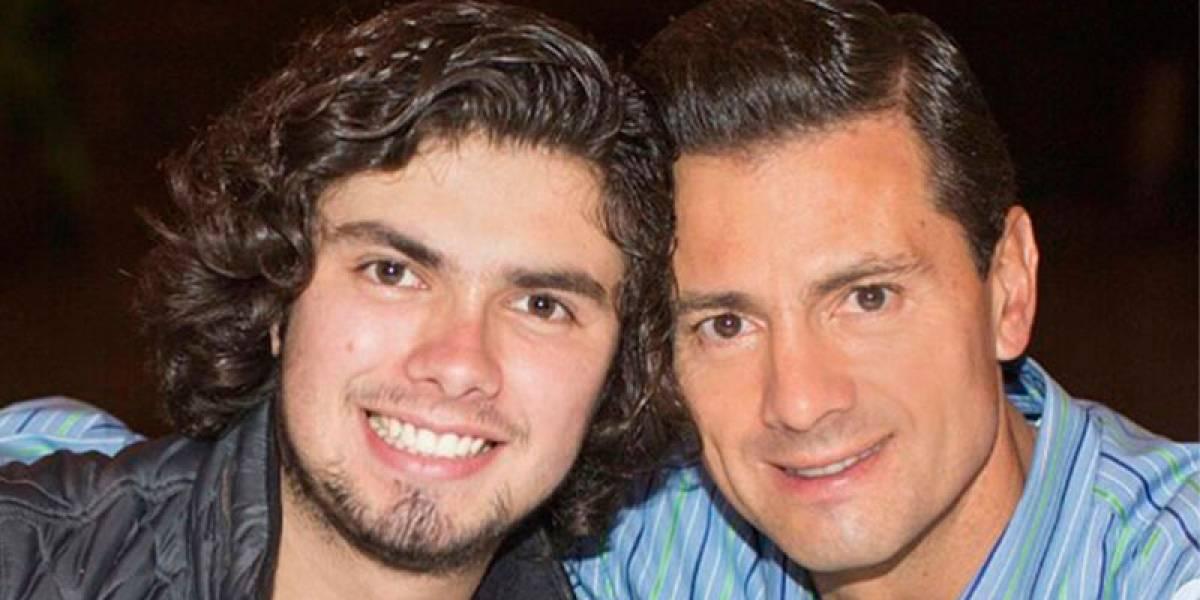 Hijo de Peña Nieto celebra con Luis Miguel su cumpleaños
