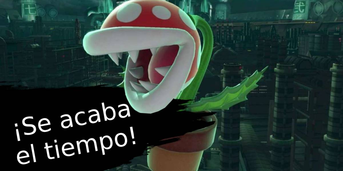 Super Smash Bros. Ultimate: Se acaba el tiempo para canjear a la Planta Piraña gratis