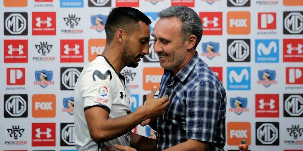 "Marcelo Espina descartó a Brian Fernández y avisó que buscan refuerzos: ""Colo Colo no tiene problemas económicos"""