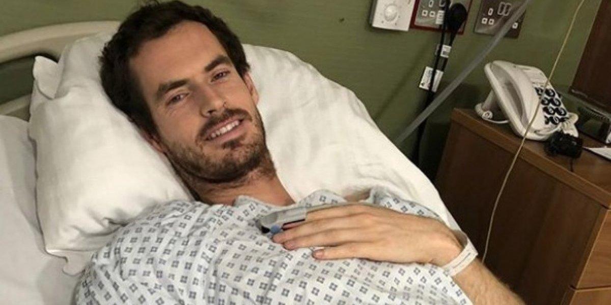 Vuelven a operar a Andy Murray de la cadera