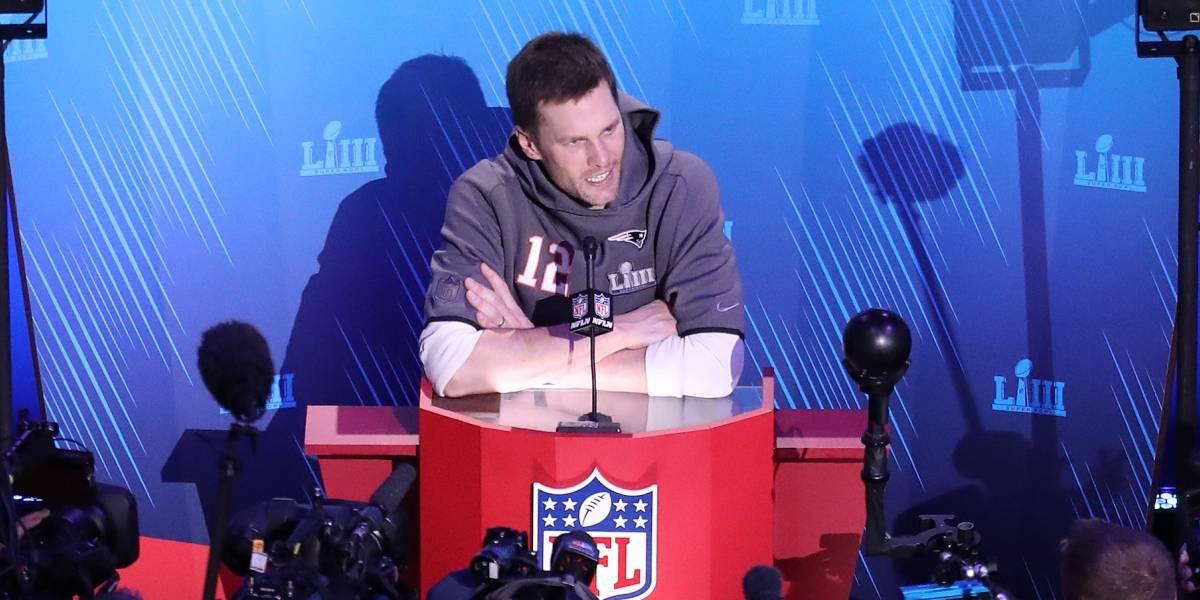 Tom Brady no supo qué decir cuando le preguntaron de la película Roma