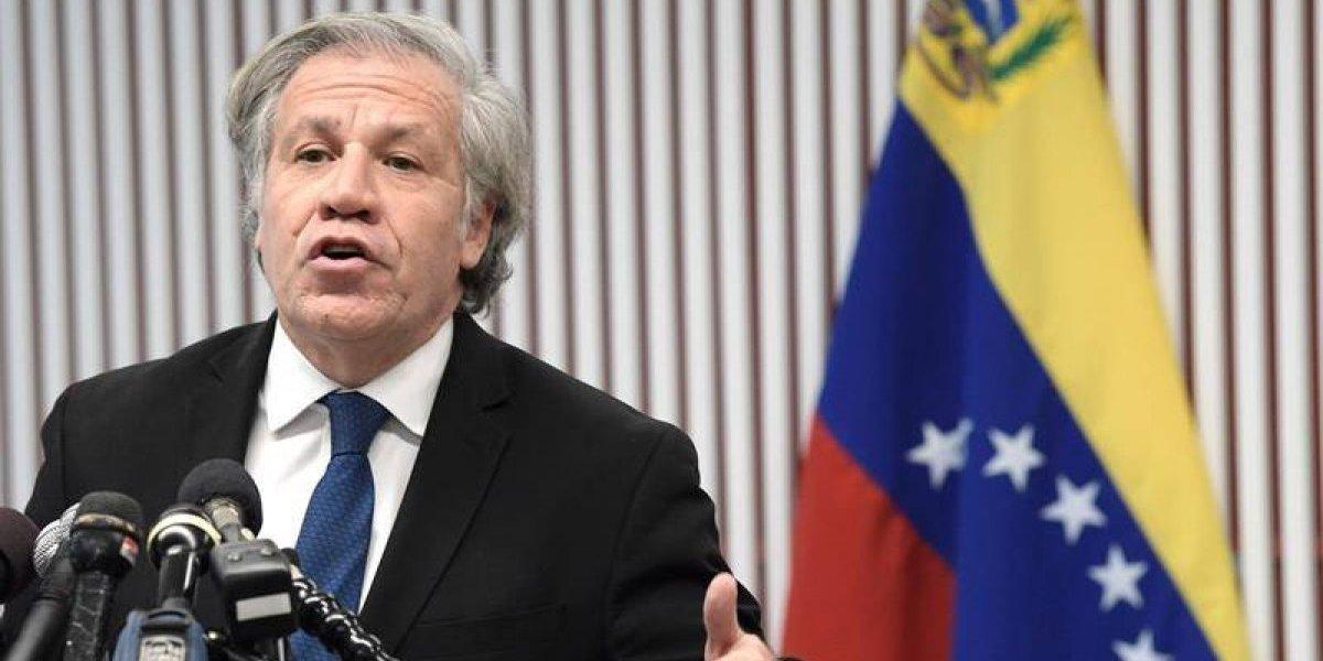 """Luis Almagro considera """"ridículo"""" abogar por el diálogo en Venezuela"""