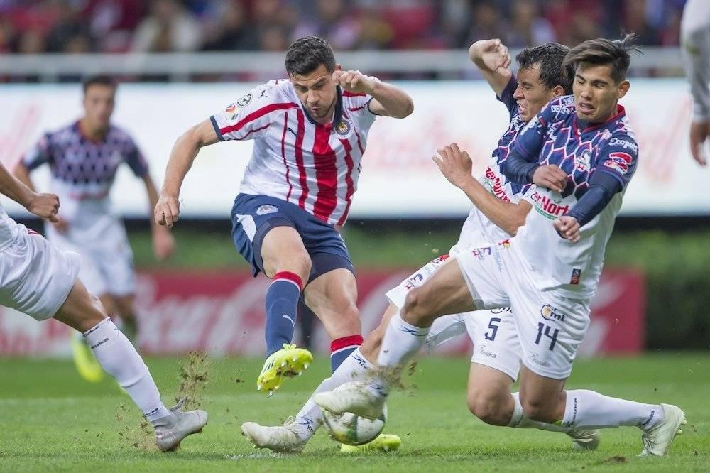 Chivas no pudo llevarse los tres puntos. / Mexsport