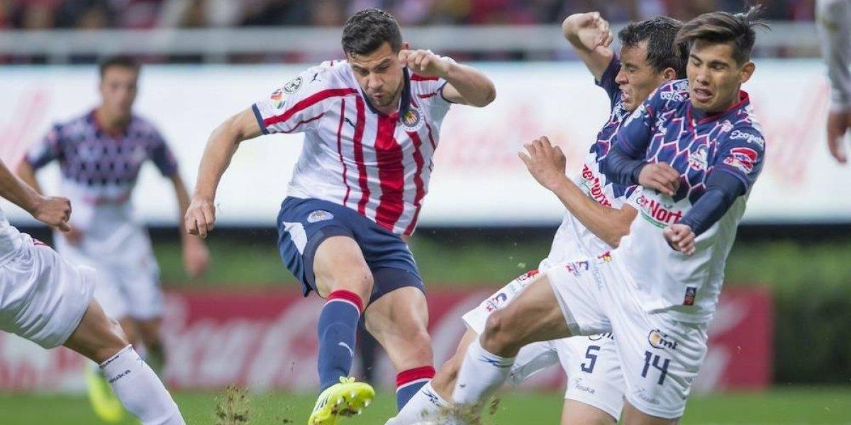 Chivas apenas pudo empatar frente a Cimarrones en la Copa MX