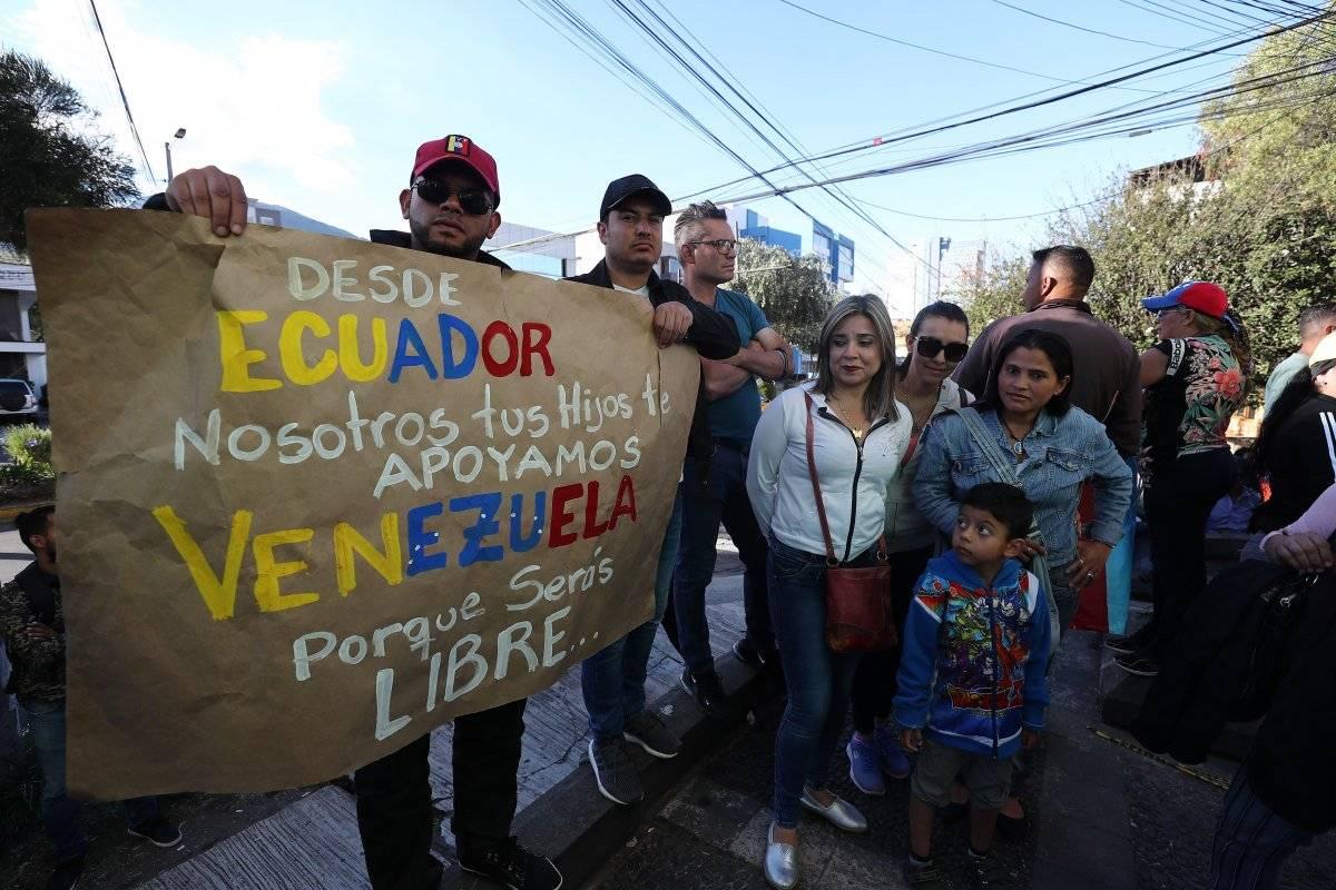 Venezolanos Ecuador EFE
