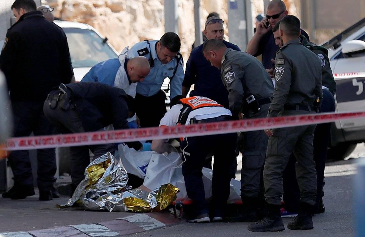 Mujer palestina es baleada por solados israelíes efe