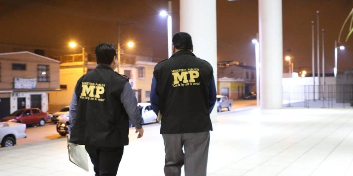 Investigan posibles hechos de corrupción en municipalidad de San Miguel Dueñas