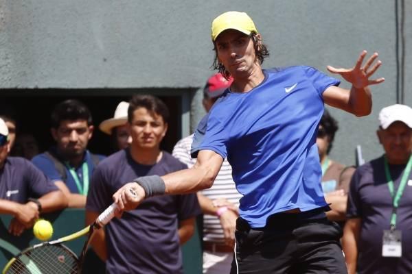 Julio Peralta está en duda para los dobles por Copa Davis ante Austria /Imagen: Agencia UNO