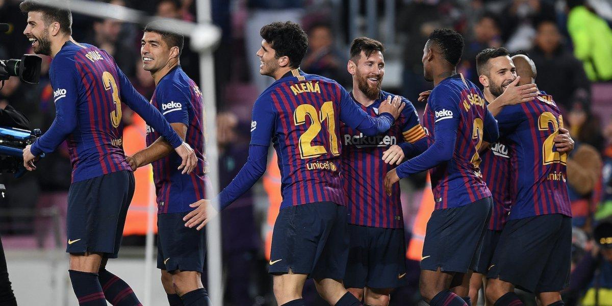 Barça defiende su corona en Copa del Rey al golear al Sevilla