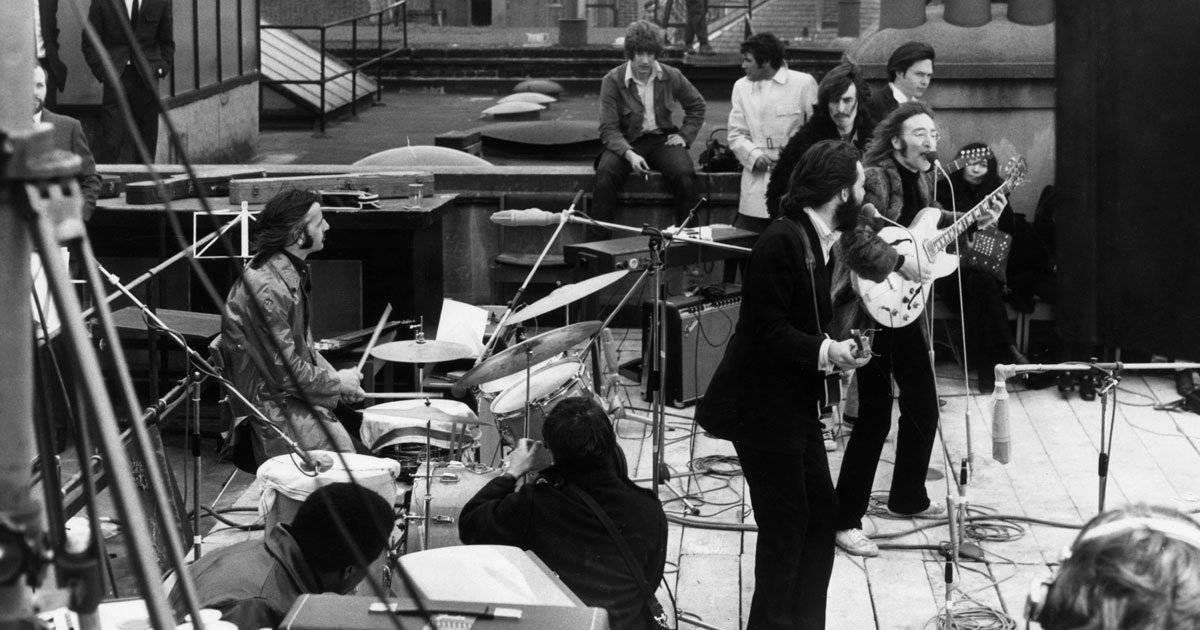 Beatles último show na Saville Row