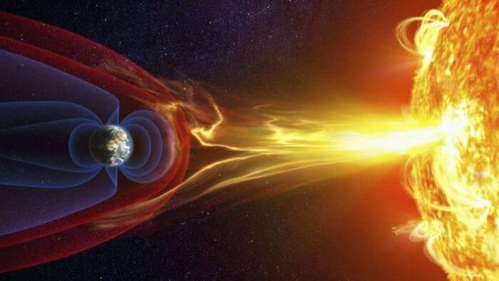 Cambios en el campo magnético de la Tierra están relacionados con extraño fenómeno en el núcleo