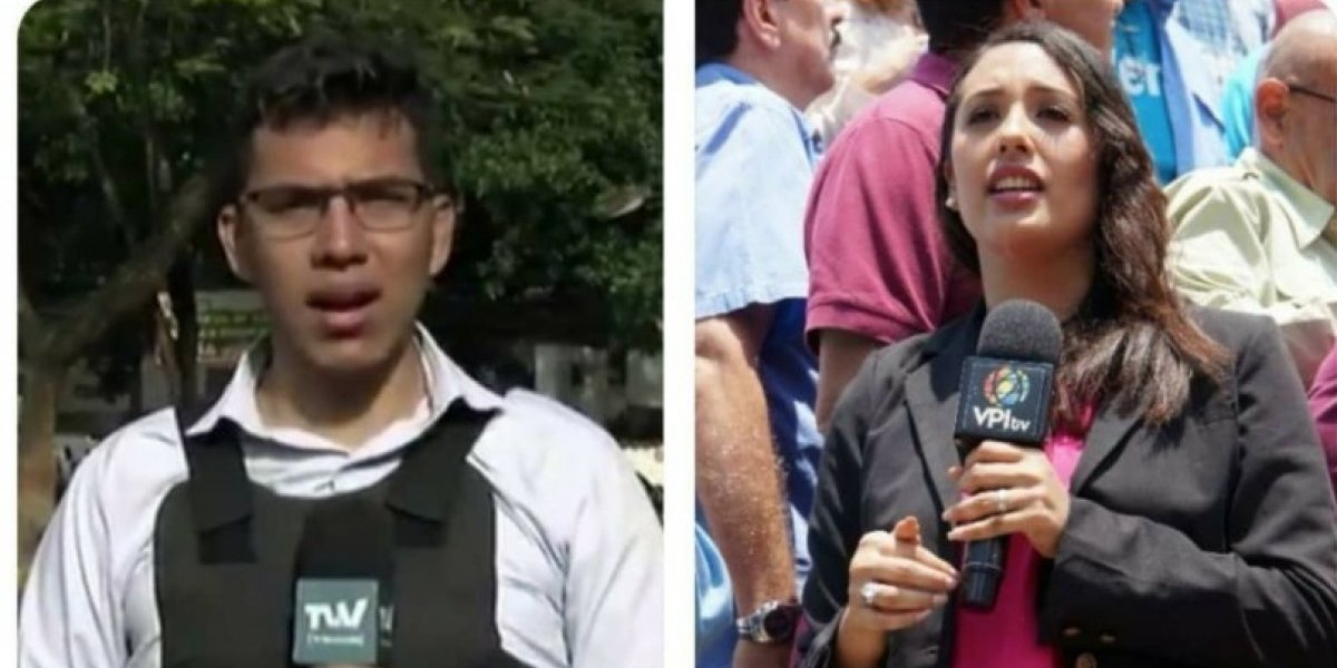Venezuela: Detuvieron a cuatro periodistas cerca de sede presidencial de Miraflores