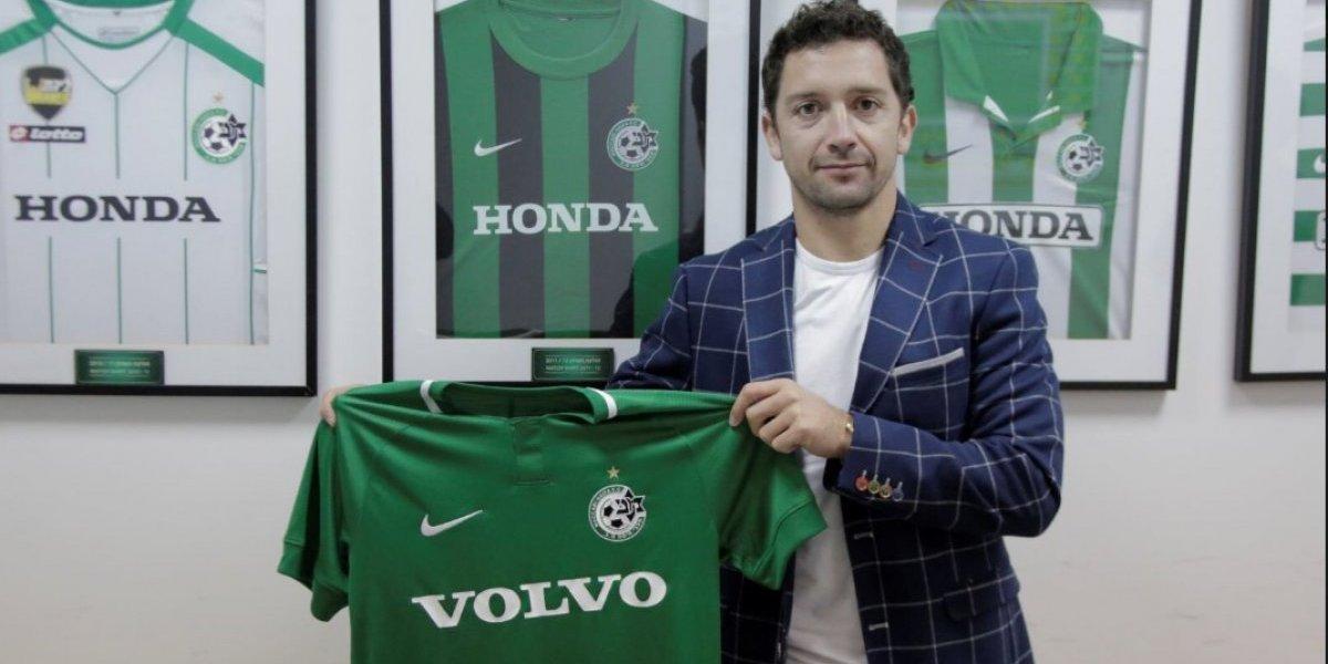 Manuel Iturra extiende su paso por Europa y ahora jugará en Maccabi Haifa FC