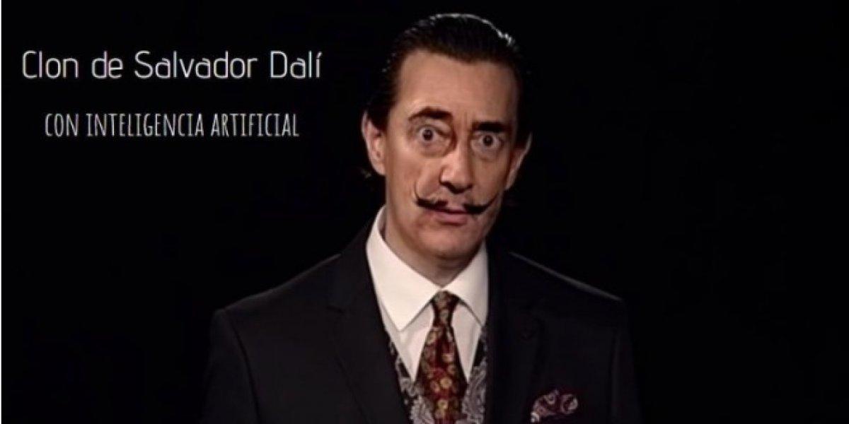 Un clon de Salvador Dalí es creado con inteligencia artificial