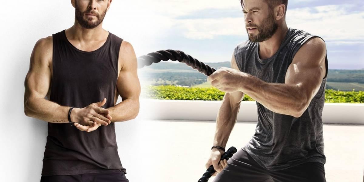 Chris Hemsworth más sexy que nunca en la portada de 'Men's Health'