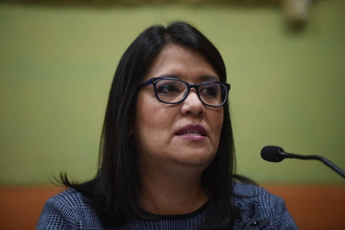 Claudia Rojas, voto en el extranjero TSE
