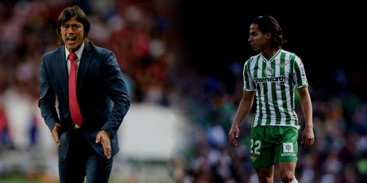 Almeyda asegura que Lainez será un jugador histórico en México