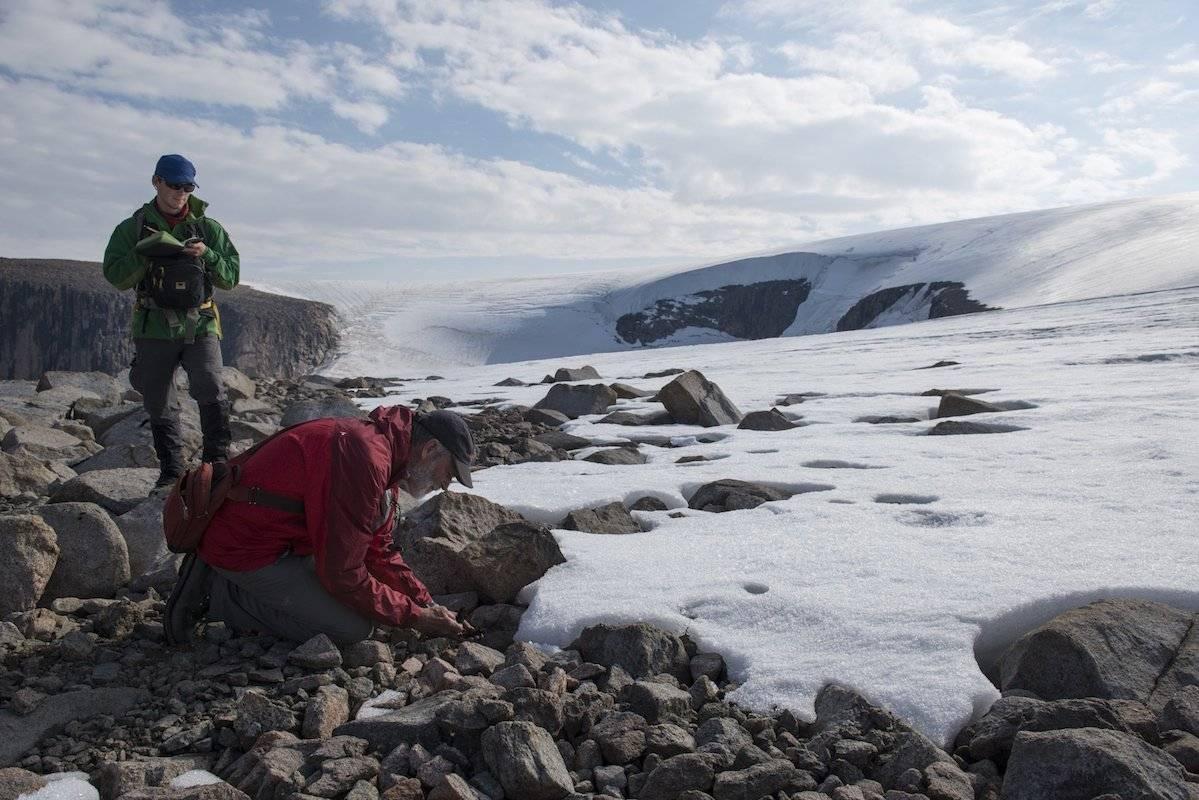 El Ártico canadiense se está derritiendo tan rápido que ya está destapando tierras que estuvieron cubiertas por más de 40.000 años