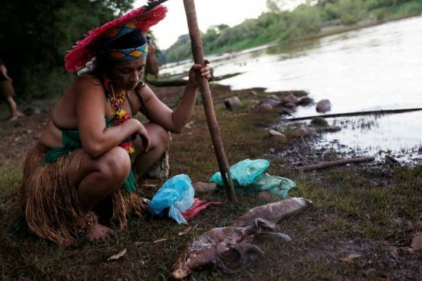 indígena tribo Pataxó Hã-hã-Hãe
