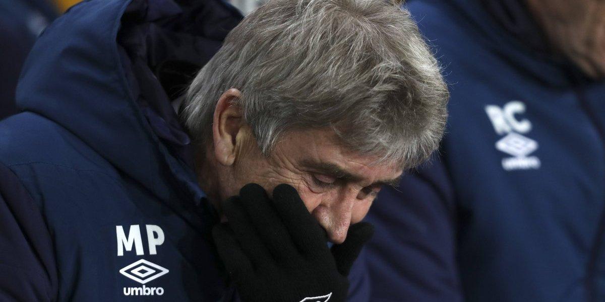Pellegrini en su peor momento en West Ham: los resultados y las lesiones lo tienen en el piso