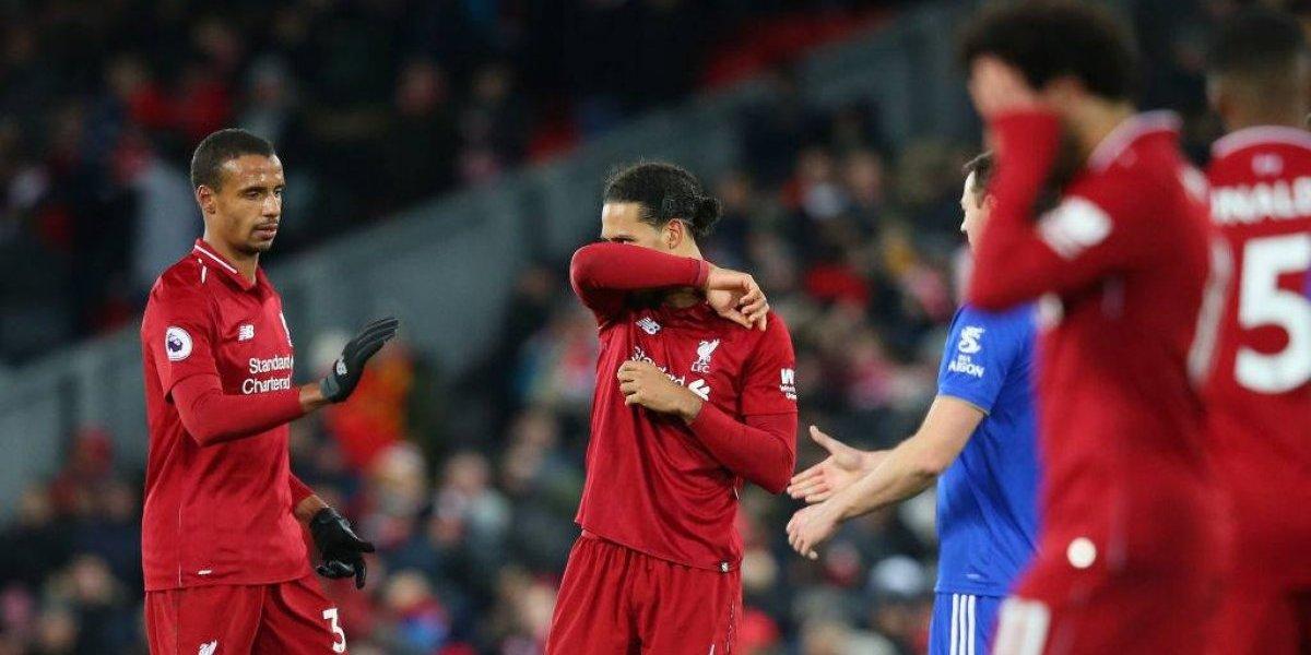 Liverpool empató y desaprovechó la oportunidad de escaparse en la cima de la Premier
