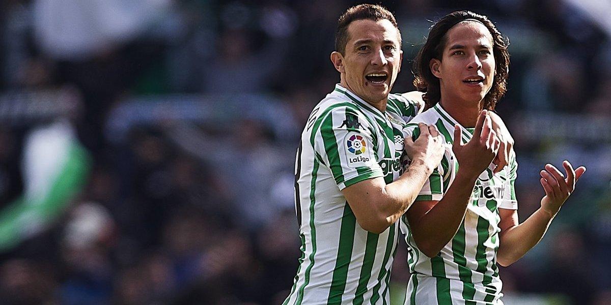 VIDEO: Guardado defiende a Lainez en la Copa del Rey