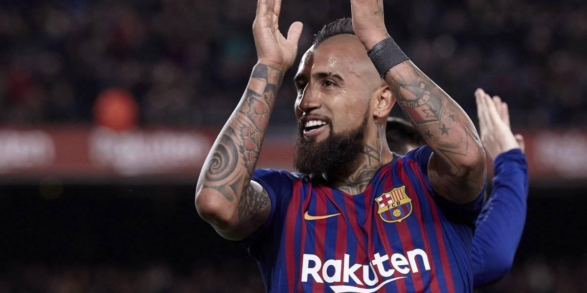 """Valverde se rinde a Arturo Vidal en Barcelona: """"Es una garantía, para nosotros es fundamental"""""""