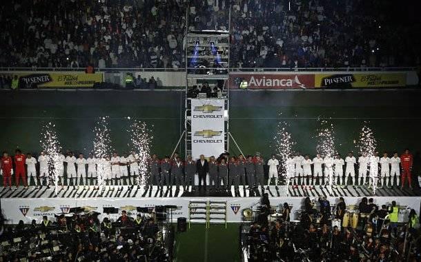 Noche Blanca: Liga de Quito vs Santa Fe. Cierres viales Internet