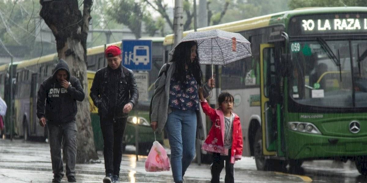 Activan Alerta Amarilla en toda la CDMX por tormentas