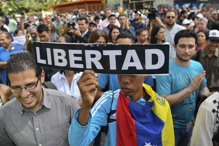 Manifestaciones en Venezuela