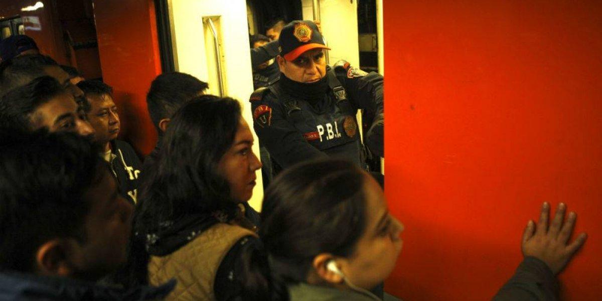 Ya hay denuncia en PGJ por intento de secuestro en el Metro