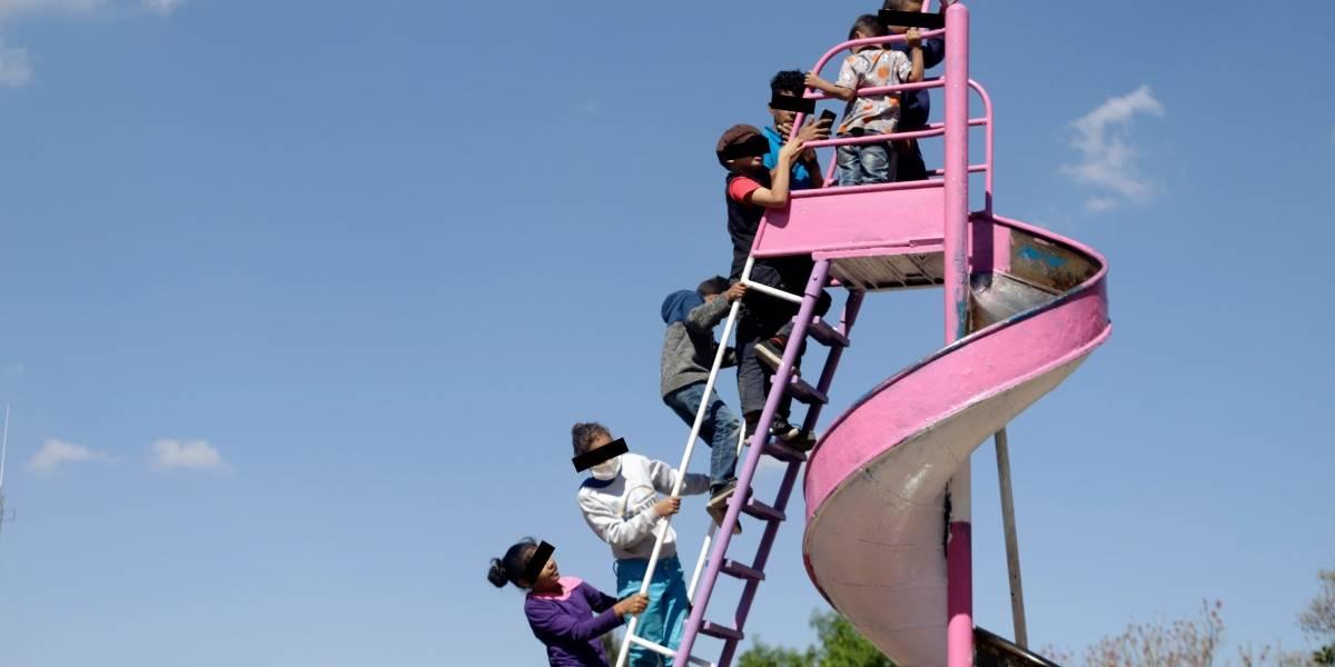 Niños migrantes solitarios buscan llegar a destinos seguros: Unicef
