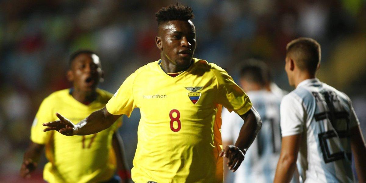 Sudamericano Sub 20: Ecuador venció a Argentina y fue el único que pudo ganar en la primera fecha del hexagonal