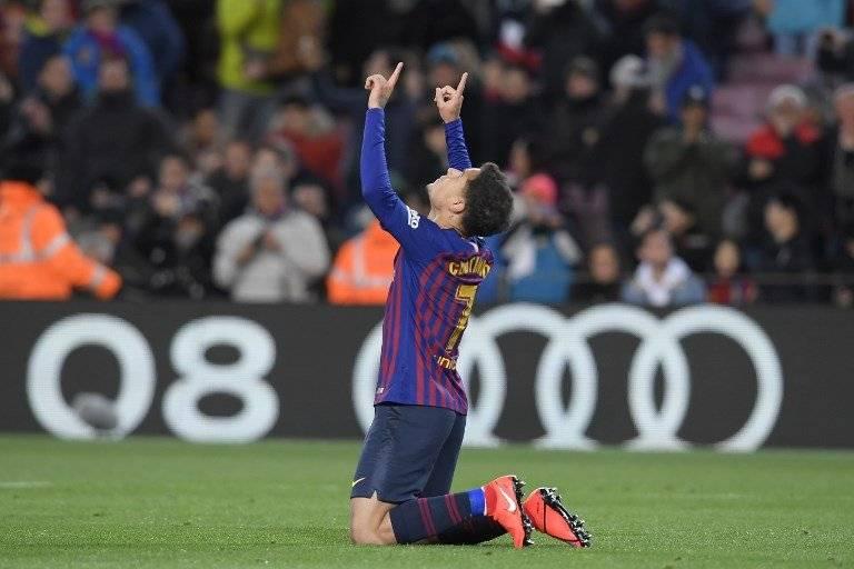 Gol de Coutinho contra el Sevilla