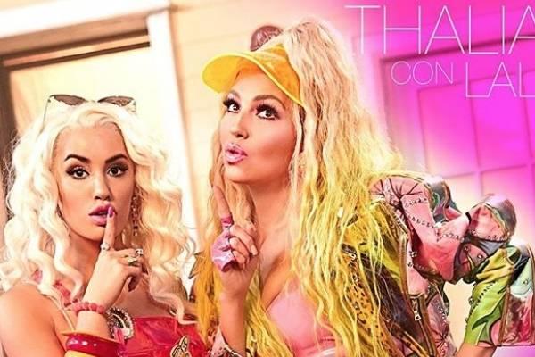 """Lali y Thalía estrenan video de """"Lindo pero bruto"""""""