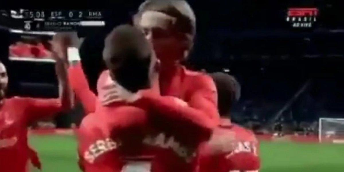 Beso entre Sergio Ramos y Luka Modric causa sensación en el mundo del futbol